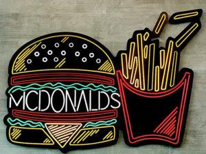 Доставка из Макдональдса